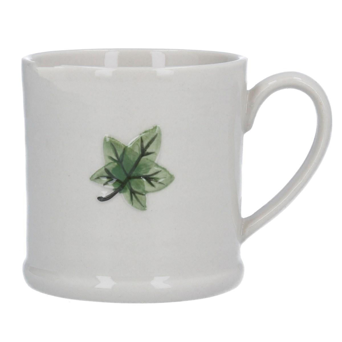 Ceramic Mini Mug Ivy Leaf